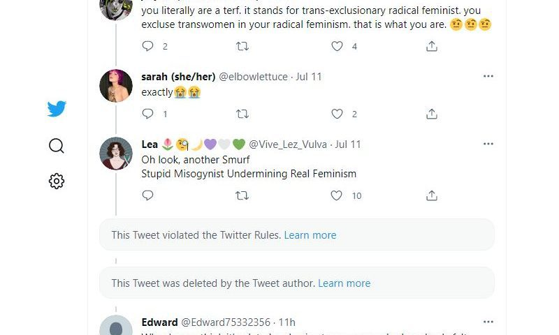 t0etag: @elbowlettuce @Vive_Lez_Vulva @Edward75332356 @TheNightUnfurls @StephenBrant10 @robotenby @LeiaBryant13 Lmao that's the least of your worries. I'd rather be a transphobe than a vapid shell of a person who thinks being a cunt to CSA survivors is some kinda gotcha