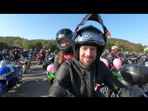 2021 10 09 Moto Pink October motorbike of the FAG Nord EST and FFMC90 ...